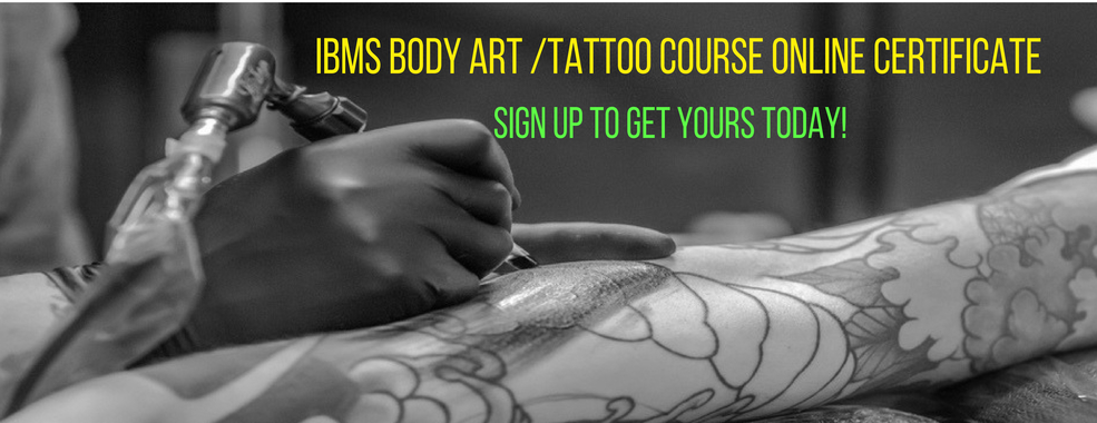 IBMS | Online Tattoo School & Tattoo Certification
