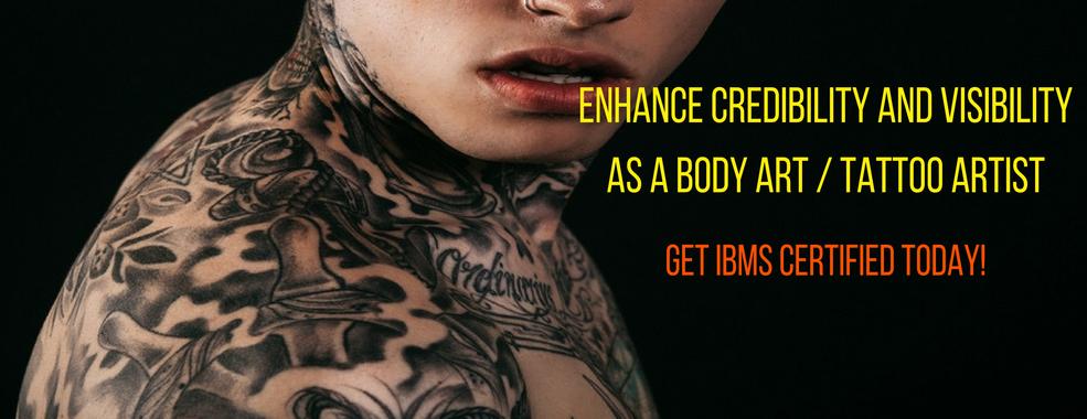 Ibms online tattoo school tattoo certification for Bloodborne pathogens for tattoo artists